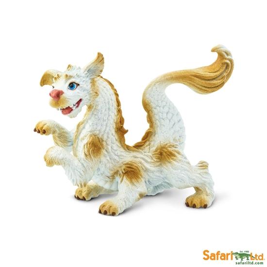 Safari Ltd 10130 Smok szczęścia młody 9x3,7x7,5cm