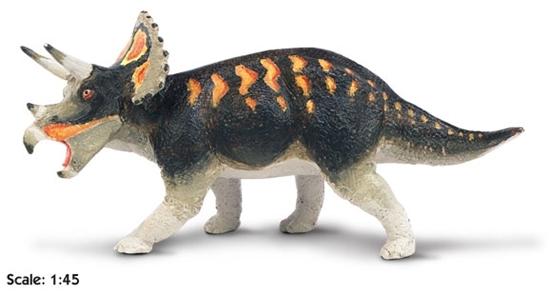 Safari Ltd 403601 Dinozaur Triceratops 1:45  18,5x9cm  Carnegie