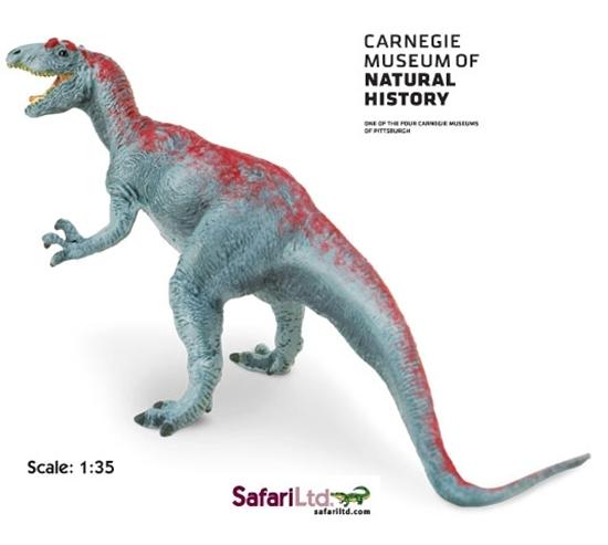 Safari Ltd 410901 Dinozaur Allozaur 1:35  23x11,5cm  Carnegie
