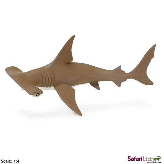 Safari Ltd 267929 Rekin młot  - młody 18x7,5cm  skala 1:4
