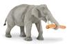 Safari Ltd 295529 Słoń indyjski z kłodą   16,5x9cm