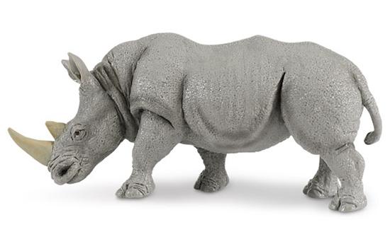 Safari Ltd 270229 Nosorożec biały   14,5x6,5cm
