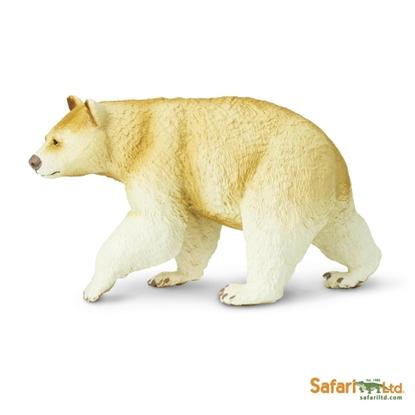 Safari Ltd 100045 Niedźwiedź Baribal kremowy  11,5x6,5cm