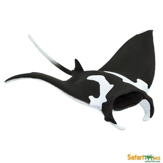 Safari Ltd 100096 Manta  14,5x11,6x3,5cm