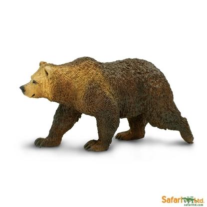 Safari Ltd  181329 niedźwiedź Grizzly   12x5cm