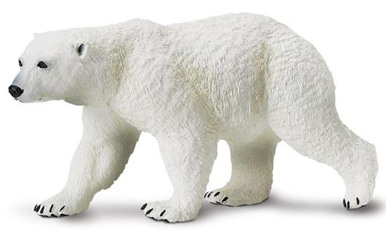 Safari Ltd 273329 Niedźwiedź polarny  12,5 x 5,5cm