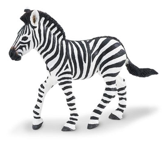 Safari Ltd 271829 Źrebię zebry  8,5x7cm