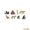 Safari Ltd 352222 dzikie mini zwierzęta 8szt. Fun Pack