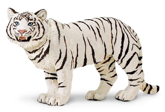 Safari Ltd 294629 Biały tygrys bengalski -samica  14 x7,5cm