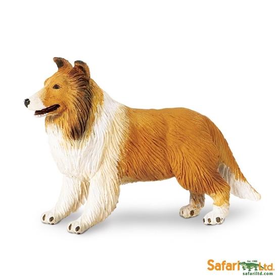 Safari Ltd 239329 Pies rasy Collie  10x6,5cm