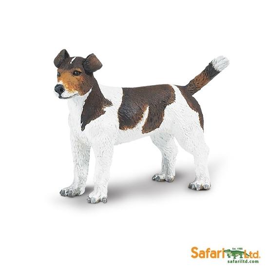Safari Ltd 254229 Pies rasy Jack Russell Terrier 6,5x5cm