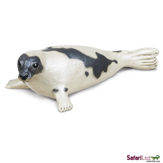 Safari Ltd 248829 Foka grenlandzka  10x4,5x3cm