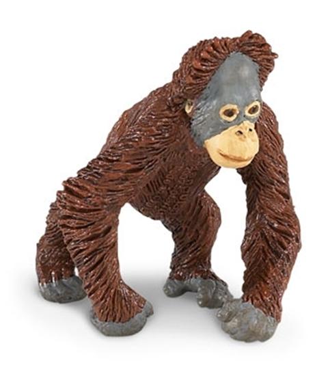 Safari Ltd 293629 Orangutan młody  6,5 x7,5cm