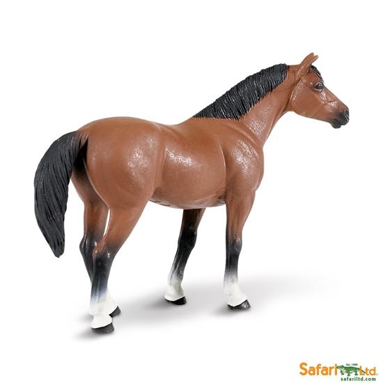 Safari Ltd 153005 Wałach rasy quarter  12,3x4x9cm