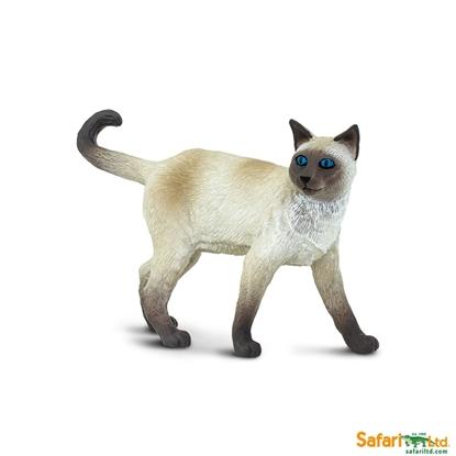 Safari Ltd 100061 Kot syjamski  8,5x2,6x4,7cm