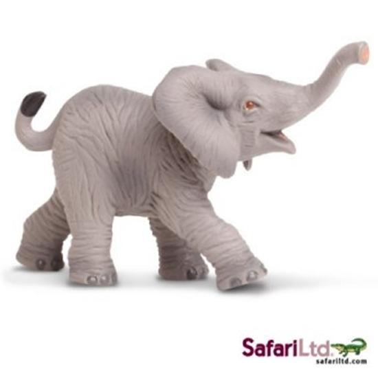SAFARI Ltd 238529 SŁOŃ AFRYKAŃSKI MŁODY 9x5cm