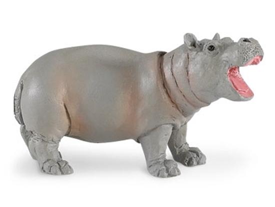Safari Ltd 270529 Hipopotam młody  7,5x4cm