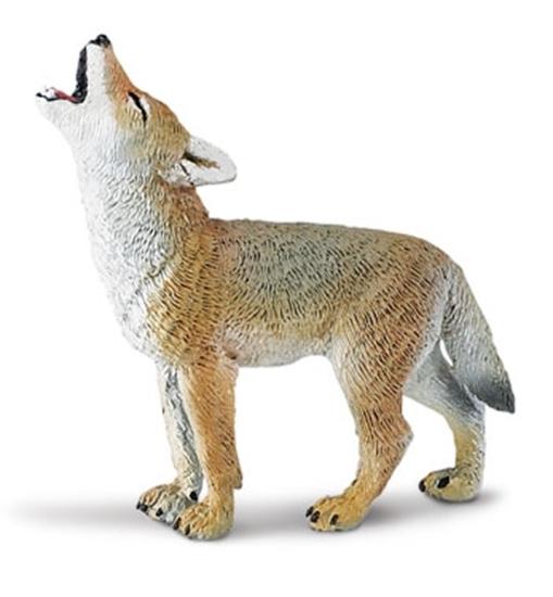 Safari Ltd 227129 Kojot wyjący 5,5 x5,5cm
