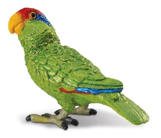 Safari Ltd 263729 Papuga amazonka  5,5 x4,5cm