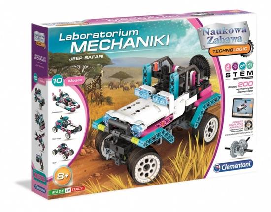 Zestaw naukowy Laboratorium mechaniki Jeep Safari (GXP-701931)