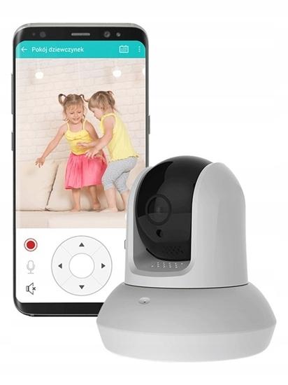 Kamera Wewnętrzna Bezpieczna Rodzina FULL HD WiFi BD.08