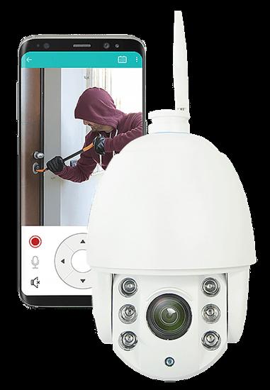 Kamera Zewnętrzna Bezpieczna Rodzina. Full HD 5x ZOOM, 30m IR. BD.10