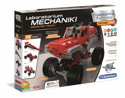 Clemantoni Laboratorium mechaniki - Monster Truck 50062 (50062 CLEMENTONI)