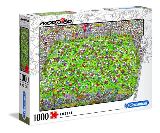 Puzzle 1000 elementów Mordillo The Match (GXP-725433)