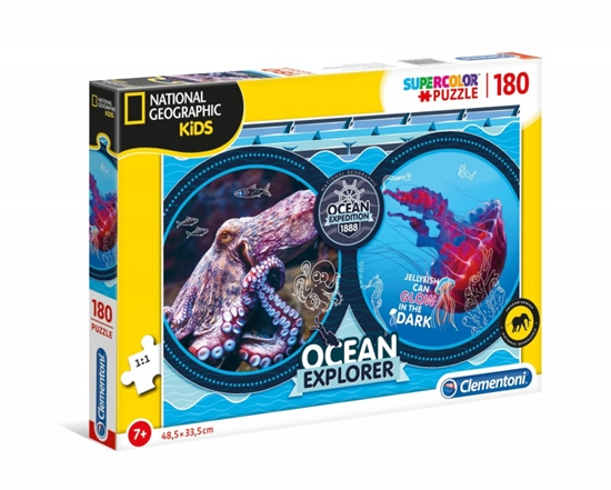 Puzzle 180 elemntów National Geographic Kids Ocean Expeditio (GXP-725404)