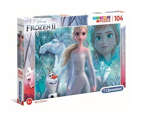 Puzzle 104 Super kolor Frozen 2 (GXP-702230)