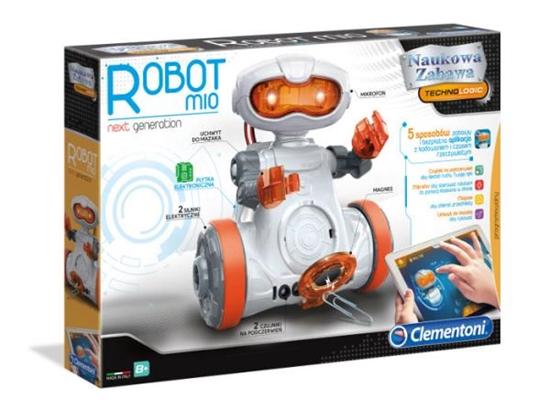 Clementoni Robot MIO nowa generacja 50632 (50632 CLEMENTONI)