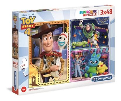 Puzzle 3x48 Super kolor Toy story 4 (25242 CLEMENTONI)