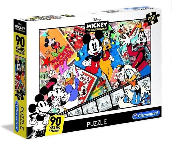 Puzzle 500 Mickey 90th (35061 CLEMENTONI)