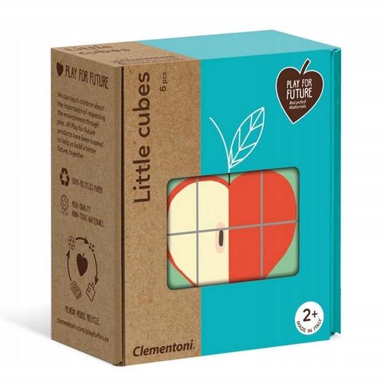 Puzzle Małe Kostki - Owoce (50171 CLEMENTONI)