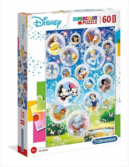 Puzzle 60 Maxi Super kolor Disney classic (26448 CLEMENTONI)
