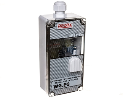 Detektor tlenku węgla 3 progi WG-22.EG