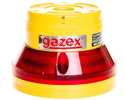 Sygnalizator optyczno-akustyczny 12V DC pulsacyjny LED czerwony 105/70dB IP54 SL-32