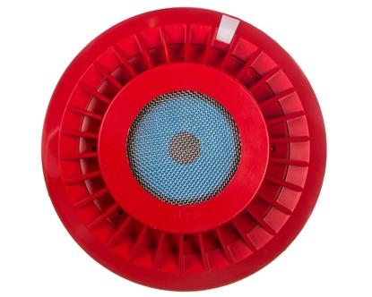Sygnalizator akustyczny pożaru adresowalny biały SAL-4001