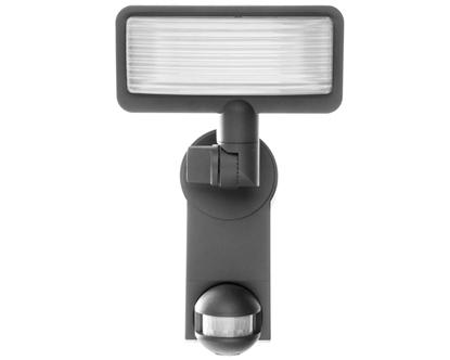 Projektor LED Premium City LH 2705 PIR IP44 17W 1080lm 6400K z czujnikiem ruchu klosz pryzmatyczny 1179620