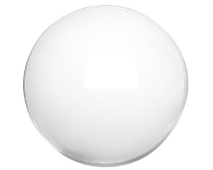 Oprawa CAMEA SMD LED RCR 12W LED biała klosz matowy 4000K z czujnikiem ruchu 063886/PA