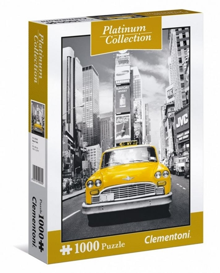 Puzzle 1000 New York Taxi (39398 CLEMENTONI)