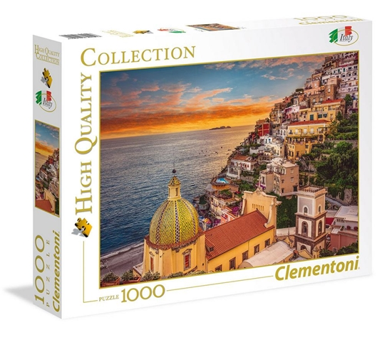 Puzzle 1000 Positano (39451 CLEMENTONI)