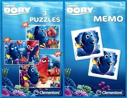 Clementoni 2x20+100 + Memo Finding Dory (07811 CLEMENTONI)