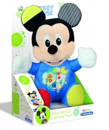 Baby Mickey - Świecący pluszak (17206 CLEMENTONI)