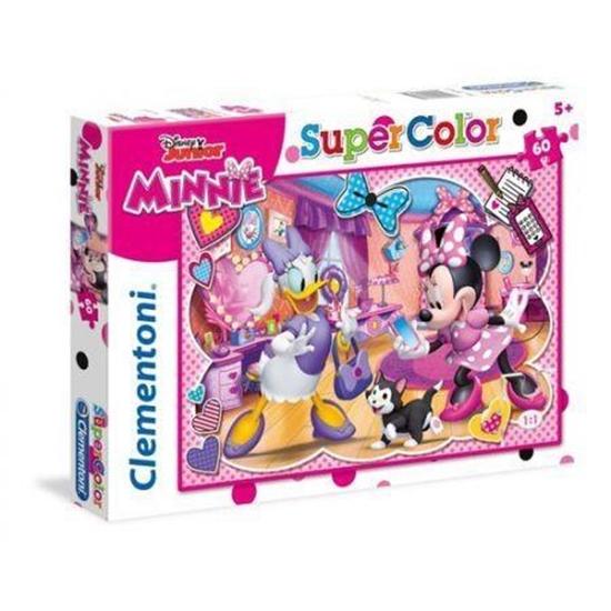 Puzzle 60 Superkolor Minnie (26975 CLEMENTONI)