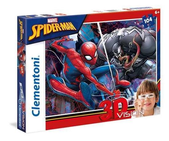 Puzzle 104 Spider-Man (20148 CLEMENTONI)