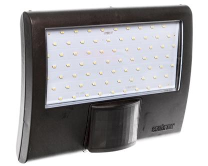 Projektor LED z czujnikiem ruchu i zmierzchu 8 metrów 10,5W 160 stopni 230-240V 50Hz IP44 antracyt XLED HOME CURVEDA 012076