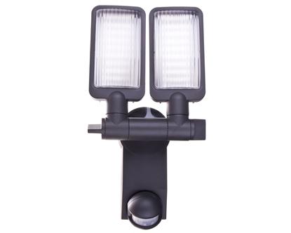 Projektor LED Duo Premium City LV 5405 PIR IP44 31W 54xled 2160lm z czujnikiem ruchu klosz pryzmatyczny 1179660