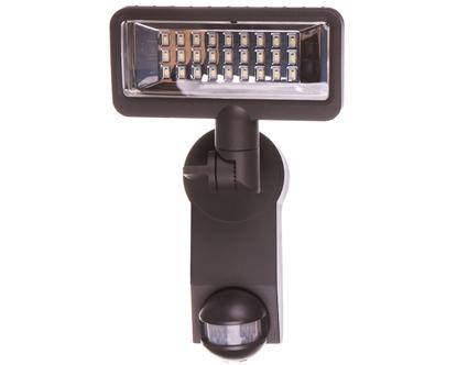 Projektor LED Premium City SH 2705 PIR IP44 13W 1080lm z czujnikiem ruchu klosz przeźroczysty 1179610