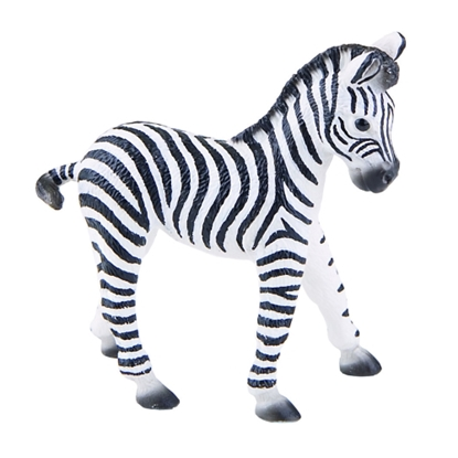 BULLYLAND 63502 Zebra - źrebię  9cm